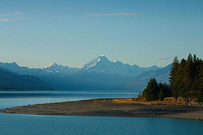 Photograph - Lake And Mountains by Jenny Setchell