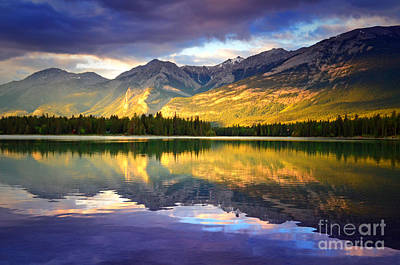 Photograph - Lake Annette In The Evening by Tara Turner
