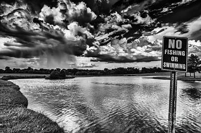 Photograph - Lake At Alabama Shakespeare Festival by Danny Hooks