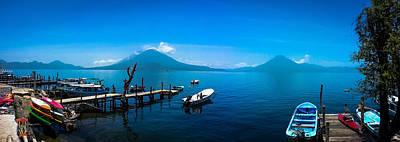 Panajachel Photograph - Lake Atitlan #3 by Brandyn King