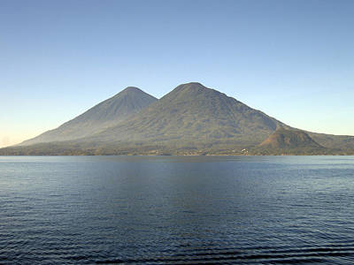 Photograph - Lake Atitlan I by Kurt Van Wagner