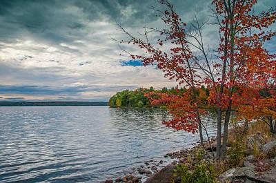 Photograph - Lake Auburn 19576 by Guy Whiteley