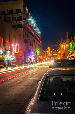 Photograph - Lake Avenue Saturday Night by Mark David Zahn Photography
