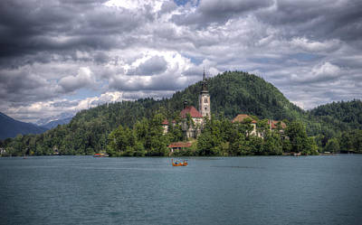 Photograph - Lake Bled by Uri Baruch