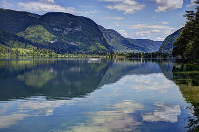 Photograph - Lake Bohinj by Uri Baruch