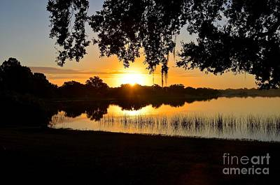 Photograph - Lake Bonny Sunrise II by Carol  Bradley