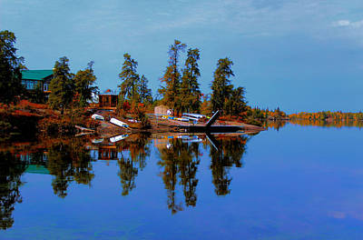 Photograph - Lake Brereton by Larry Trupp