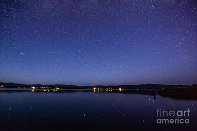 Photograph - Lake Cascade Idaho By Night by Vishwanath Bhat