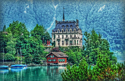 Photograph - Lake Castle Palace by Hanny Heim