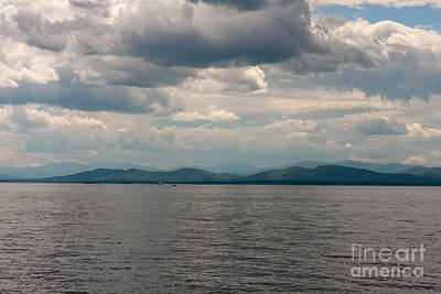 Photograph - Lake Champlain And Adirondacks by Paul Rebmann