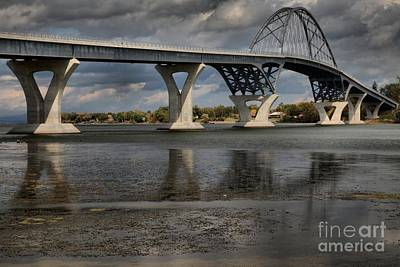 Photograph - Lake Champlain Bridge by Adam Jewell