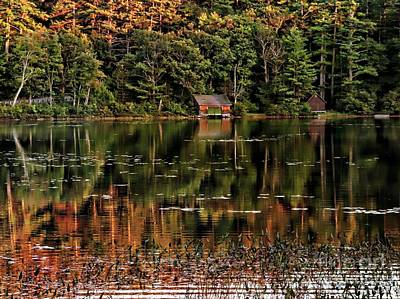 Photograph - Lake Chocorua by Marcia Lee Jones
