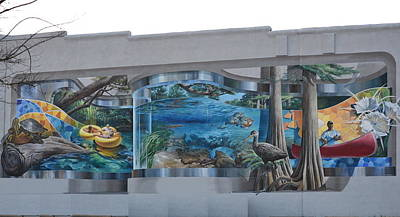 Photograph - Lake City Mural by Roy Erickson
