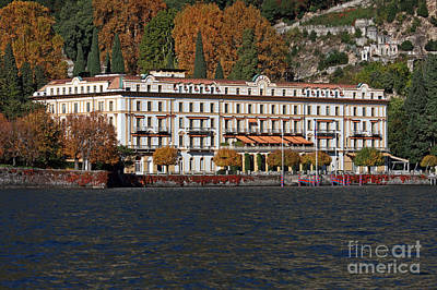 Lake Como Italy Art Print by Amos Dor