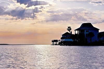 Photograph - Lake Como On The Gulf Coast Sunset by Kristina Deane