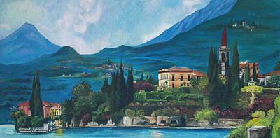 Lake Como Art Print
