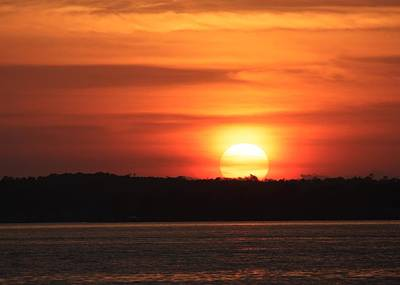 Lake Conroe Sunset Art Print