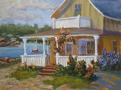 Lake Cottage Original by Mohamed Hirji