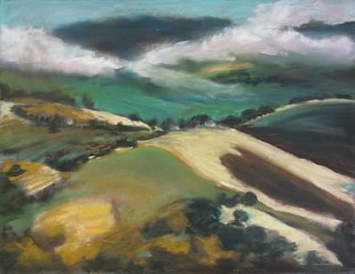 Painting - Lake County Landscape 2 by Dena Cornett