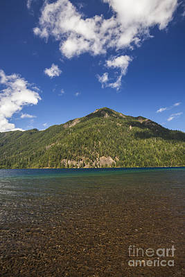 Photograph - Lake Crescent by Bryan Mullennix