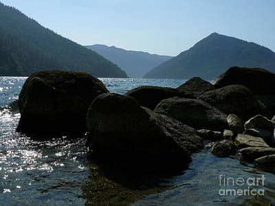 Art Print featuring the photograph Lake Crescent by Jane Ford