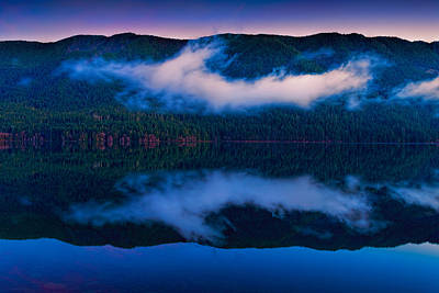 Photograph - Lake Crescent by Thomas Hall