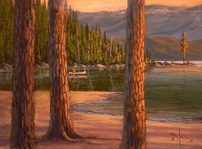 Painting - Lake Cruise by Paul K Hill
