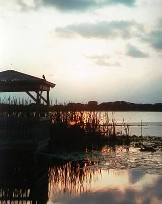 Photograph - Lake Deer Sunrise by Belinda Lee