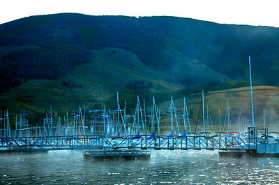 Photograph - Lake Dillon Docks  by Eric Rundle