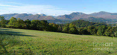 Photograph - Lake District Fells - Keswick by Phil Banks