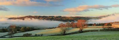Ambleside Wall Art - Photograph - Lake District Misty Morning by Bojangles Photography