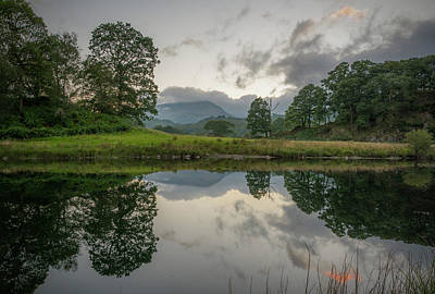 Ambleside Wall Art - Photograph - Lake District Reflections by Terry Roberts Photography