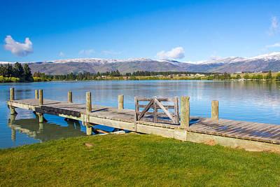 Photograph - Lake Dunstan by Nicholas Blackwell