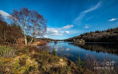 Coastline Digital Art - Lake Elsi by Adrian Evans