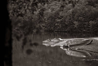 Photograph - Lake Emerald State Park In Sepia by John McGraw