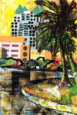 Lake Eola - Part 3 Of 3 Art Print by Everett Spruill