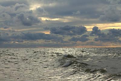 Photograph - Lake Erie Clouds by Matt Keough