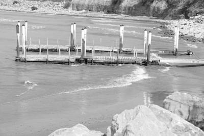 Lake Erie Dock Art Print