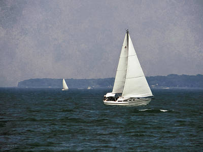 Photograph - Lake Erie Sailing by Shawna Rowe