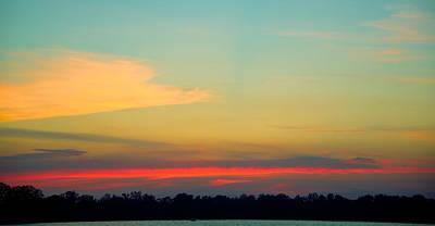 Alejandro Gutierrez Photograph - Lake Erie Sunset - I by Alejandro Gutierrez