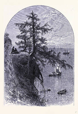 Lake Erie Drawing - Lake Erie United States Of America by American School