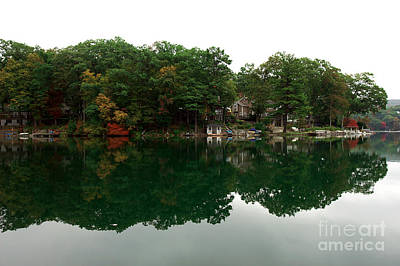 Red School House Photograph - Lake Erskine by John Rizzuto