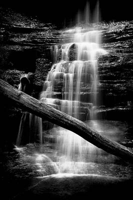 Photograph - Lake Falls by Jeff Burton