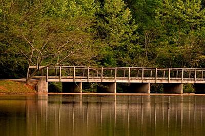 Photograph - Lake Forest Bridge by Maria Urso