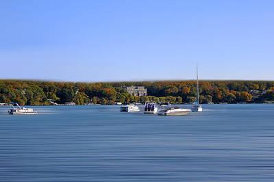 Photograph - Lake Geneva In October by Milena Ilieva