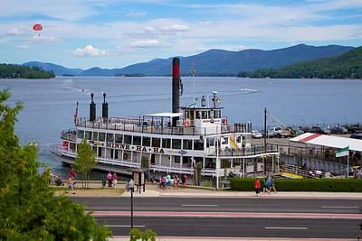 Lady Bug - Lake George Cruise by Allan Morrison