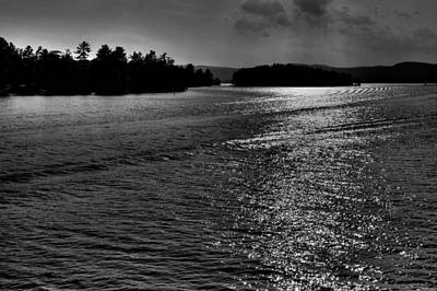 Photograph - Lake George In Upper New York State by David Patterson