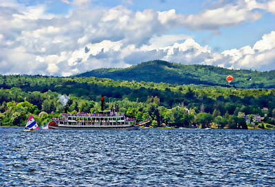Photograph - Lake George Ny by David Seguin