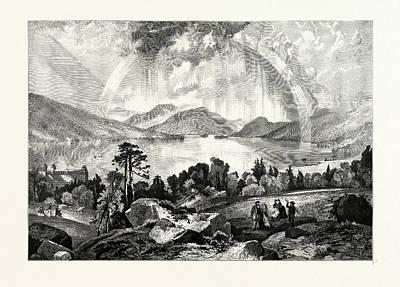 Lake George, Usa Art Print