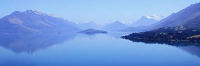 Photograph - Lake Glenorchy New Zealand by Ann Lauwers